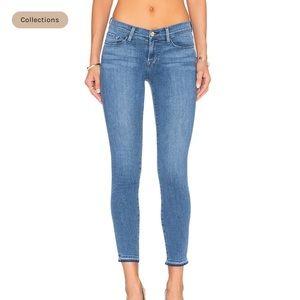 Frame Denim La Skinny de Jeanne Crop Size 26